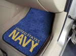 Military Logo Floor Mats - Navy