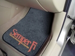 Military Logo Floor Mats - Marines
