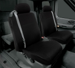 Cal Trend EuroSport Seat Cover - Black