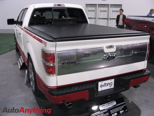 Extang Tonneau Cover on 2009 F150 Platinum Edition - SEMA 2008