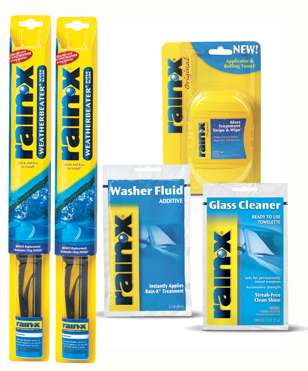 how to change rain x wiper blades