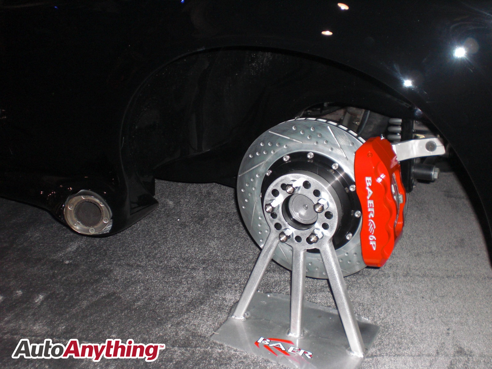 Auto Anything Promo Code >> Baer Brakes – Red 6 Piston Brake Caliper | AutoAnything ...