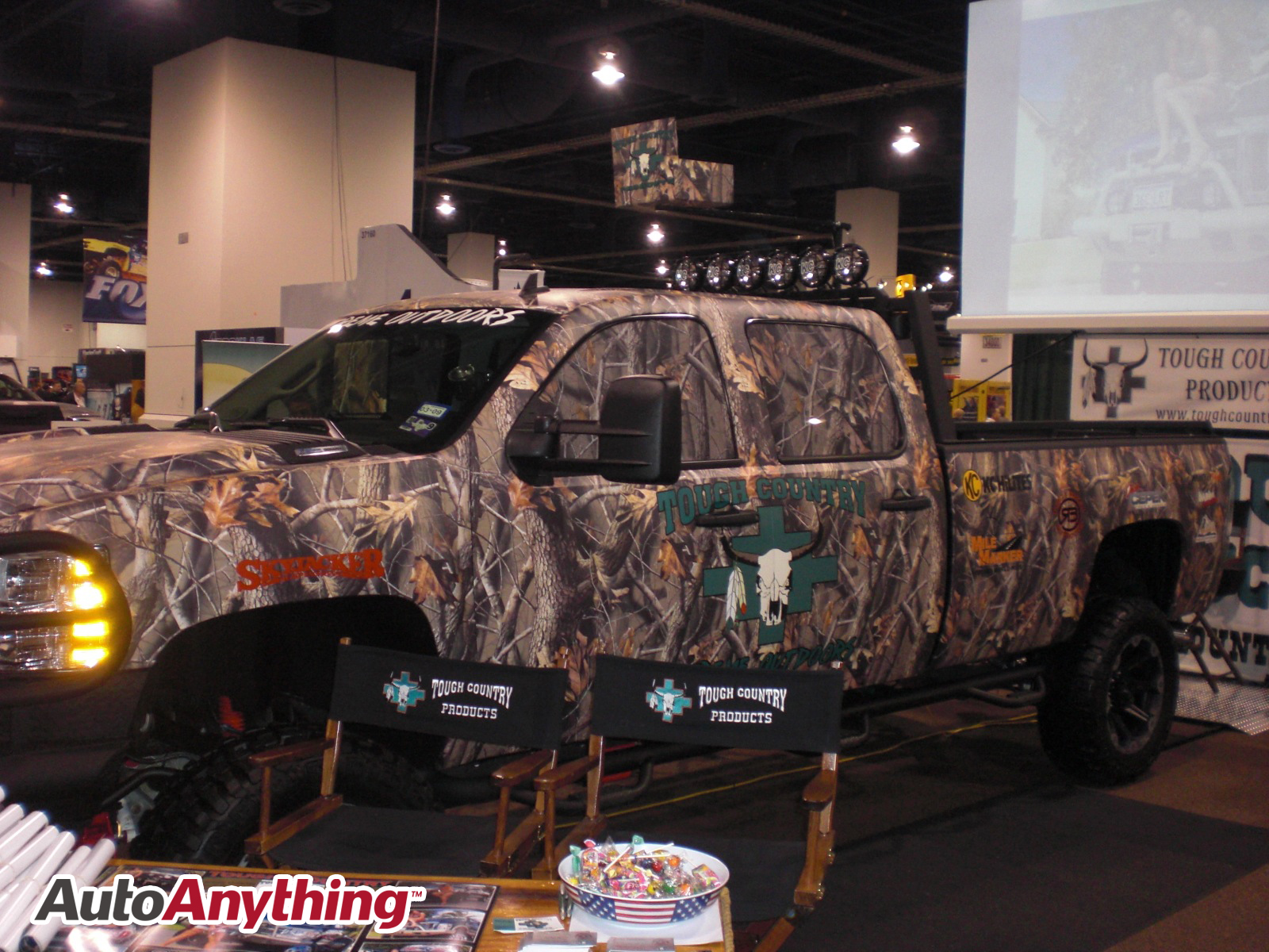 Camo Paint Chevy Truck