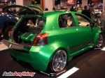 Bright Green Toyota Yaris - SEMA 2008