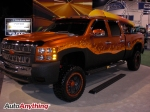 Chevy Silverado Flame Paint Job - SEMA 2008