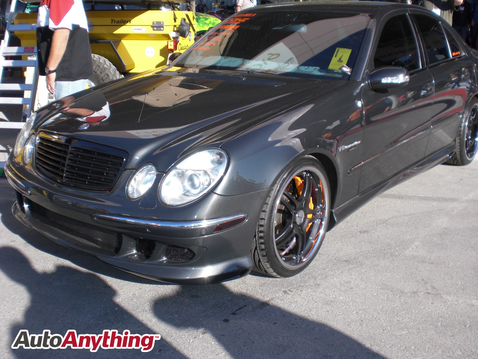 Mercedes benz e class sema 2008 autoanything coupons for Promo code for mercedes benz accessories