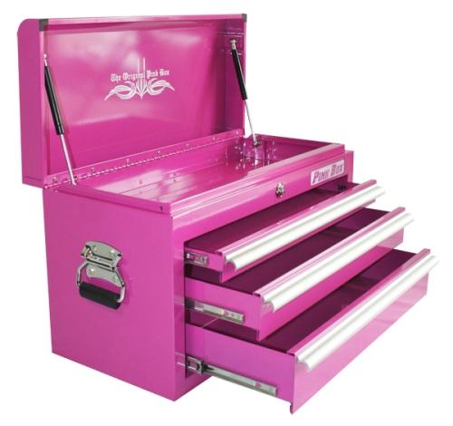 Pink Tool Box