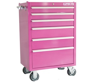 Pink Box 6 Drawer Cabinet