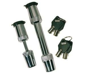 Trimax Keyed-Alike Trailer Hitch & Coupler Lock Set
