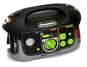 Energizer All-In-One Battery Jump Starter with Air Compressor and Power Inverter