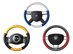 Wheelskins EuroTone Leather Steering Wheel Covers