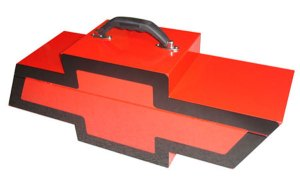 Go Boxes Portable Chevy Toolbox