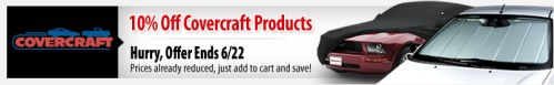 Covercraft Sale