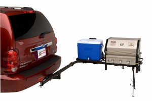 Party King Grills Swing N Smoke Tailgate Grill