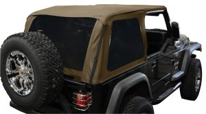 Rampage Frameless Jeep Soft Top