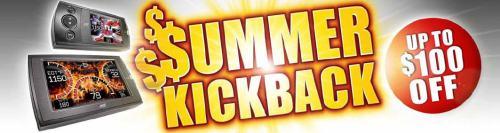 Summer Kickback Sale