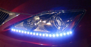 PlasmaGlow Lightning Eyes LED Headlight Strips